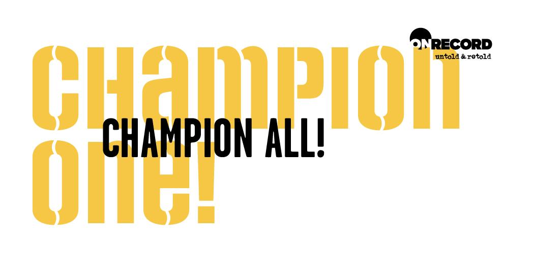 Champion One Slider New